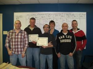 photo 2 groupe formé janvier 2011